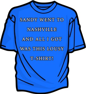 sandy went to nashville
