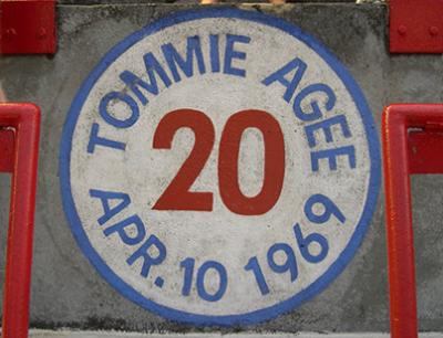 timmie agee home run spot