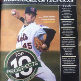 Zack Wheeler On Cover of Baseball America