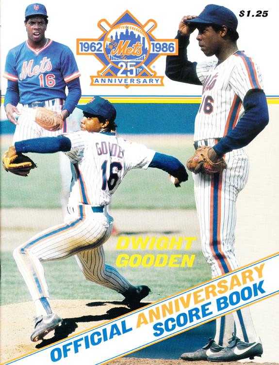 1986 Mint Condition Scorebook