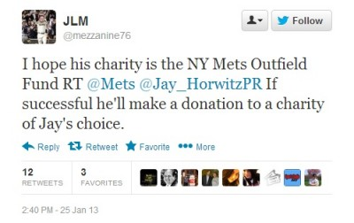 Mets joke tweet