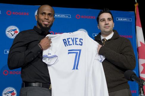Blue Jays Introduce Jose Reyes To Toronto Fans & Media