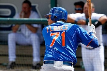 Wilmer Flores Named To Baseball America's Prospect Hot Sheet