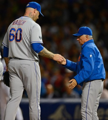 Terry Collins won't have much to look up to in 2013.