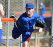 Matt Harvey in PSL (Photo credit: Larry Marano, NY Post)