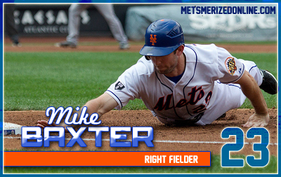 mike baxter card