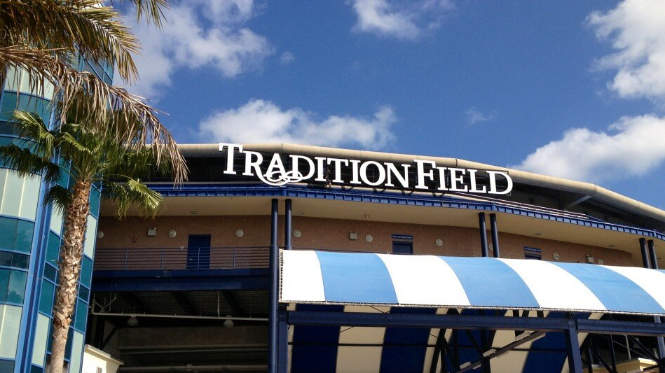 tradition field new sign