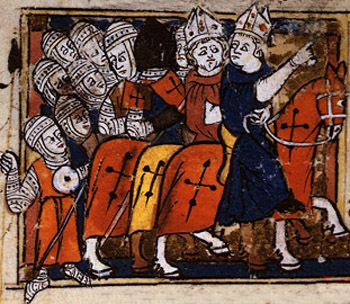 Crusades pope urban 11 Bishops