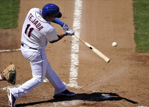 New York Mets shortstop Ruben Tejada