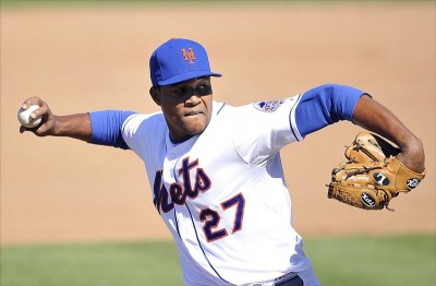 New York Mets starting pitcher Jeurys -Familia