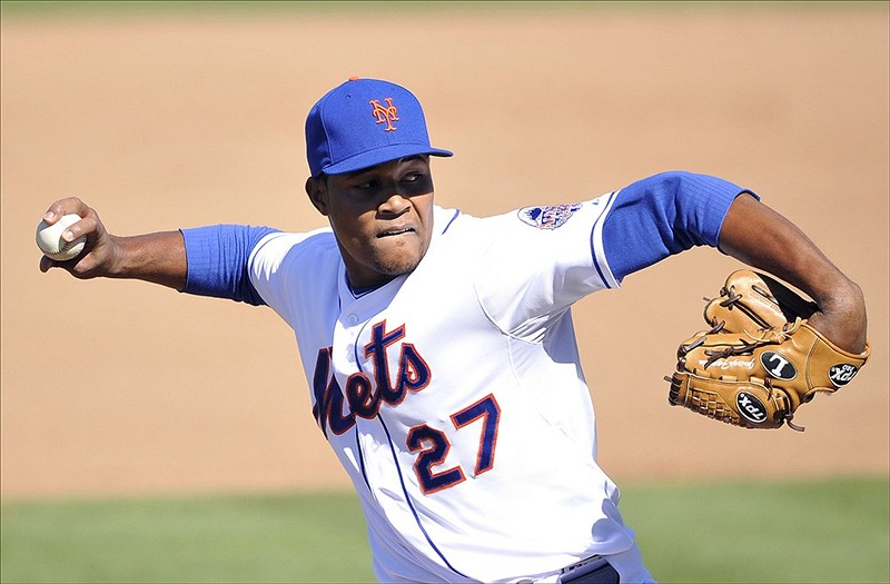 New York Mets starting pitcher Jeurys Familia