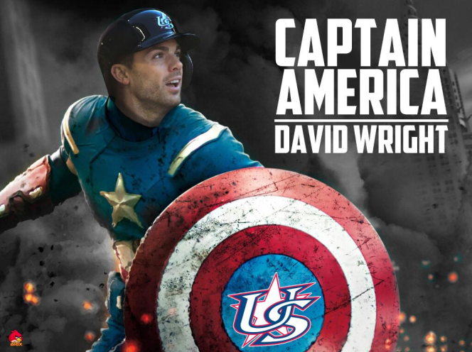 captain america wright