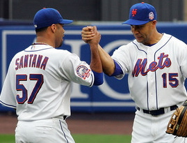 Even now, Carlos Beltran might still be able to give a hand to the recovering Johan Santana.