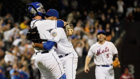 The moment will live on in Mets history