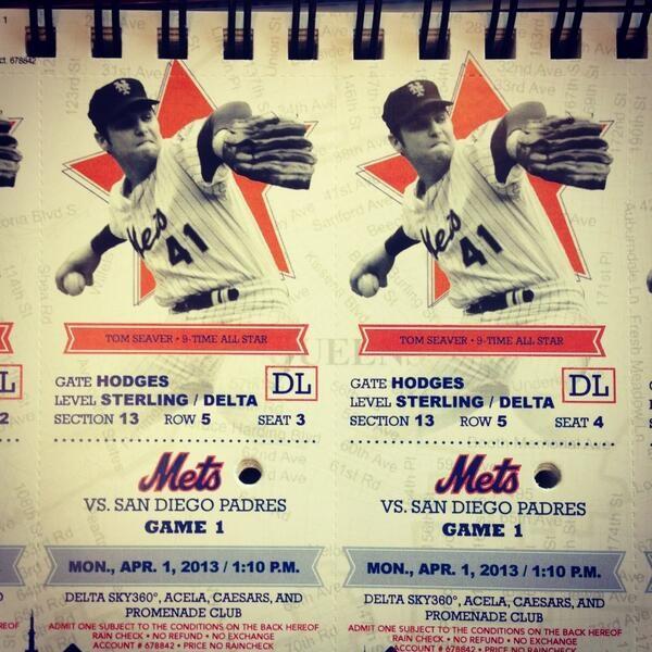 mets 2013 tickets