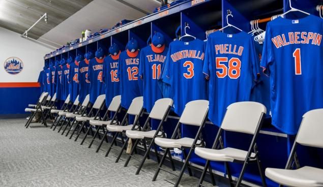 mets spring lockerroon clubhouse