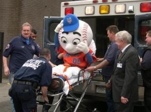 mr met ambulance hospital
