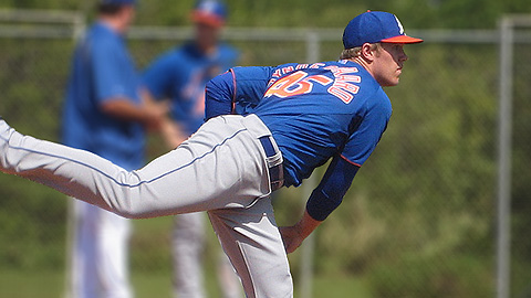Noah Syndergaard will lead a talented Advanced-A rotation in St. Lucie.