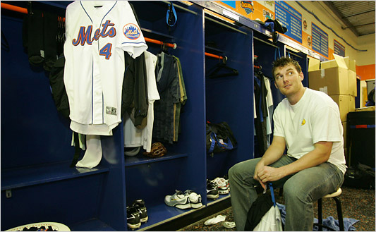 Inside The Mets' Clubhouse; Past and Present