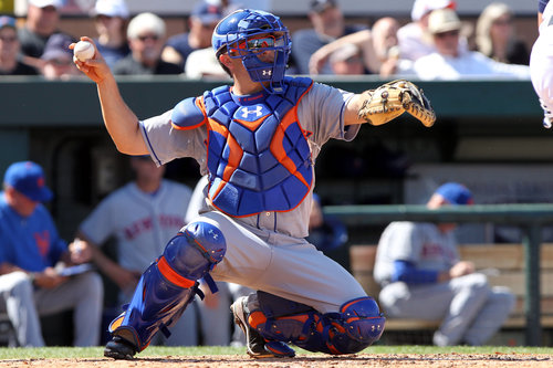 D'Arnaud/Duda Rehabbed With GCL Team Today