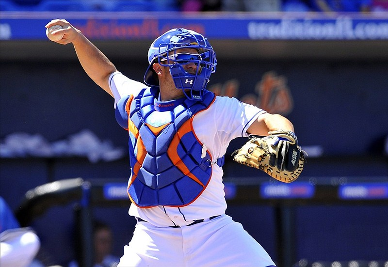 D'Arnaud Sheds The Boot, Should Begin Regular Workouts Now