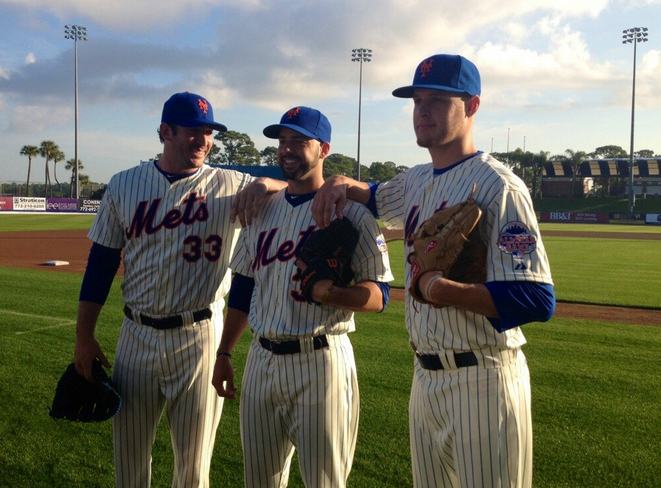 MMO Fan Shot: Future Mets Rotation Could Feature Five Top Starters