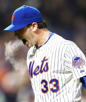 Where there's smoke, there's Matt Harvey's fire.