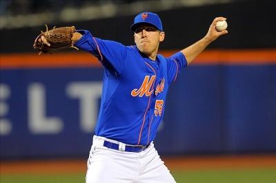 Mets relief pitcher Scott Rice