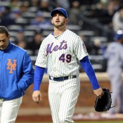 Mets Lose To Dodgers 7-2, Niese Day To Day After Leaving With Leg Injury