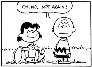 charlie brown football lucy