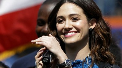 emmy-rossum-mets-opening-day