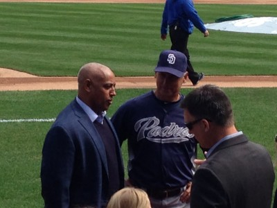 Omar Minaya here! With Bud Black