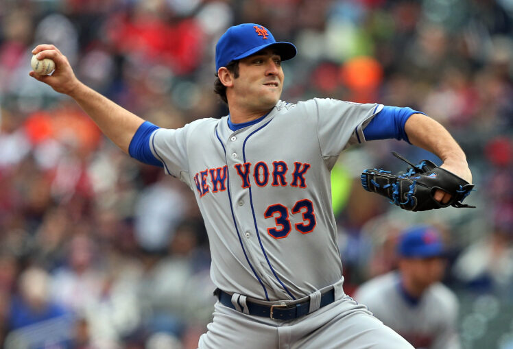Matt Harvey Named National League Pitcher of the Month