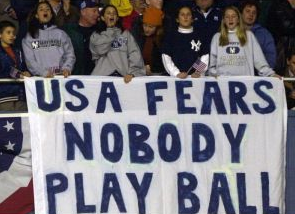 usa fears nobody