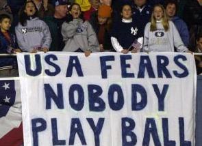 usa fears nobody