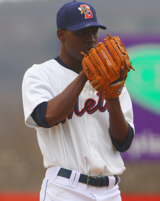 Rafael Montero takes the hill tonight for Binghamton. Photo courtesy of MMO contributor Gordon Donovan.