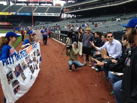 Howie Rose, Branden and Alexa To Judge Banner Day