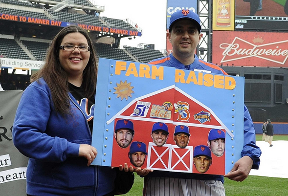 Mets Banner Day Parade Was A Hit, Here's The Winner!