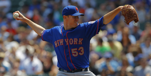 Hefner Lasts Just Four Innings In Mets 8-2 Loss To Cubs