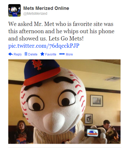 mr. met tweet