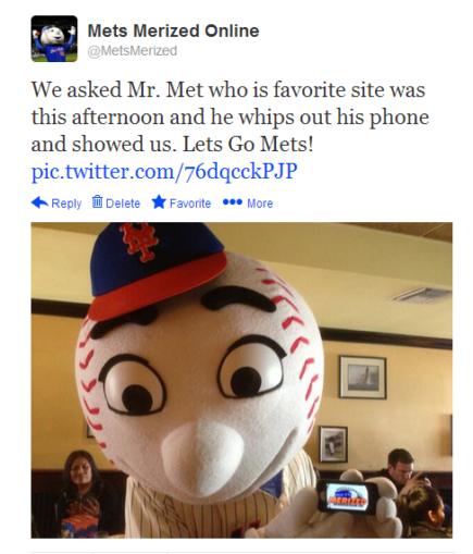 mr. met tweet
