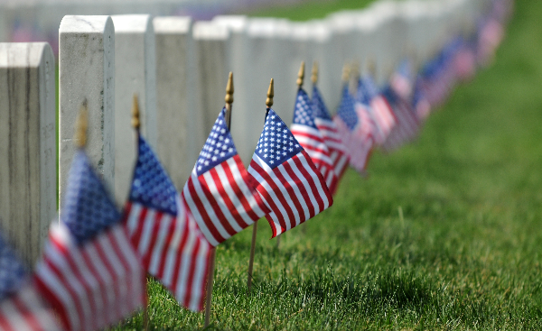 troops-place-flags-in-arlington-national-cemetery