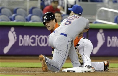 Chris Coghlan, David Wright