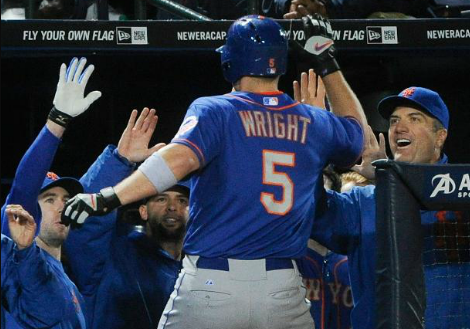 David Wright Nominated For Hank Aaron Award