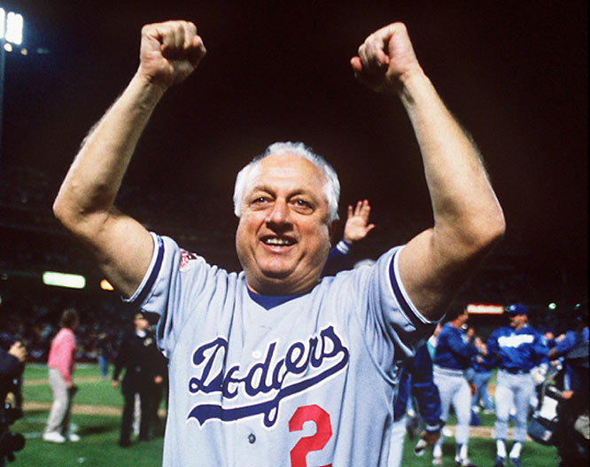 Hall of Famer Tommy Lasorda resting comfortably after being hospitalized