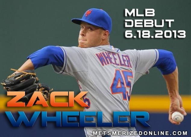 Zack Wheeler MLB Debut