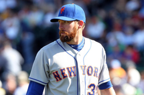 Mets Notes: Parnell Struggles In Rehab, Carlyle Exits With Back Stiffness, Montero Still Sore