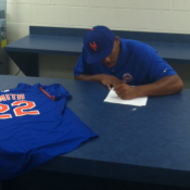 Dominic Smith Thanks Mets Fans, Officially Signs His $2.6 Million Deal