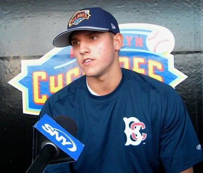 Gavin Cecchini (Photo by Jim Mancari)