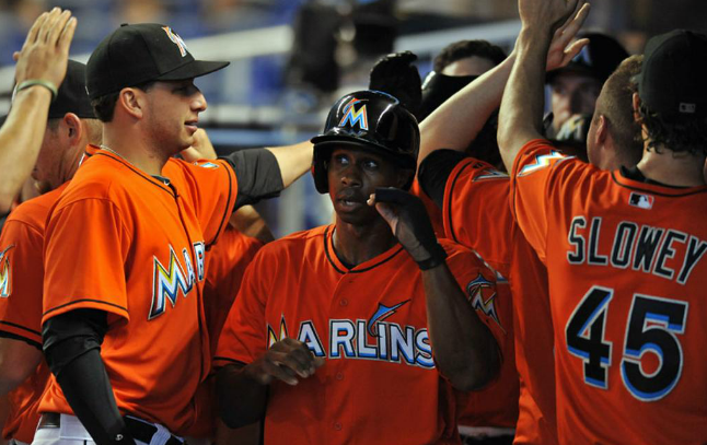 Marlins Celebrate Harvey Day With 11-6 Win Over The Mets